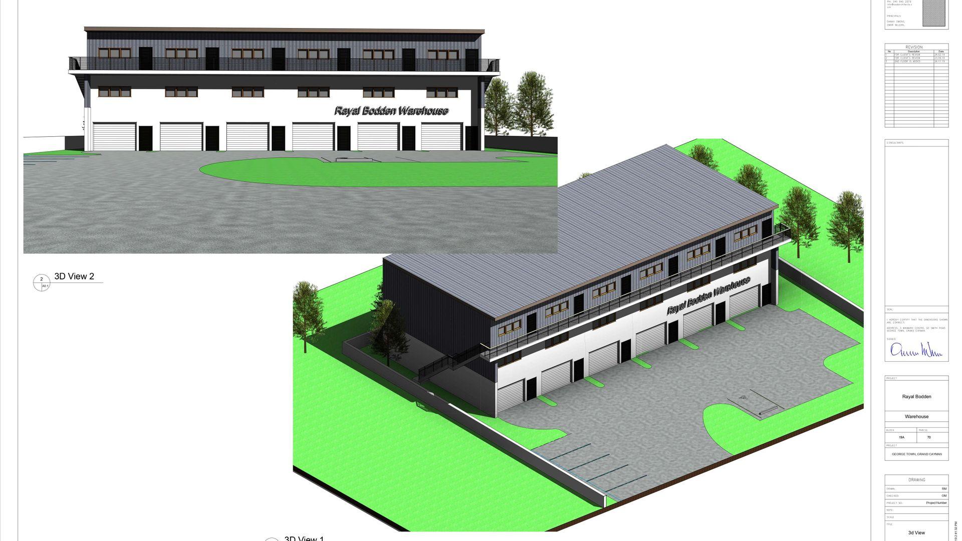 INDUSTRIAL PARK WAREHOUSE UNIT 6 END UNIT (PRE-CONSTRUCTION)