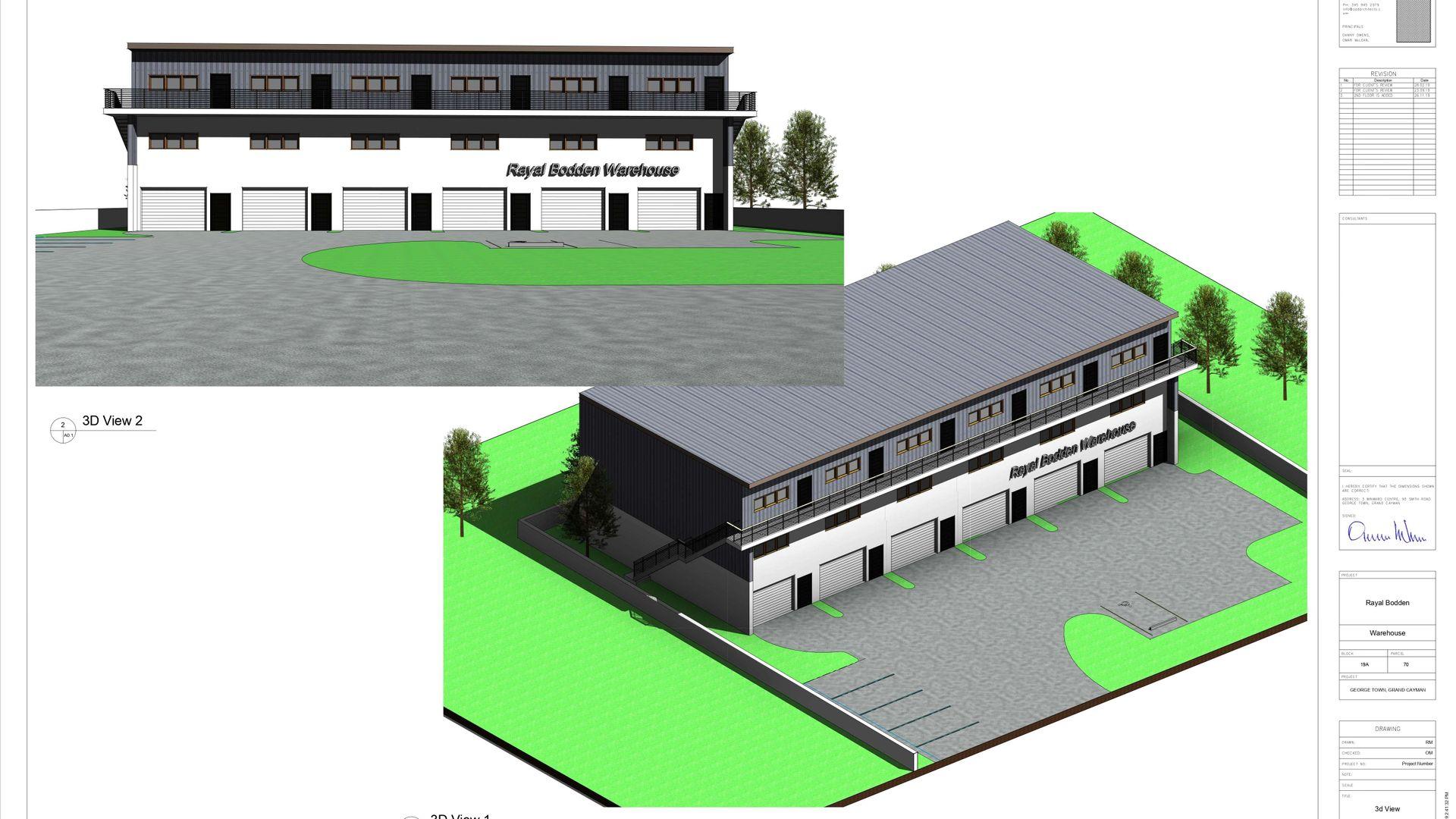 Industrial Park Office Space Unit 8 (Pre-Construction)
