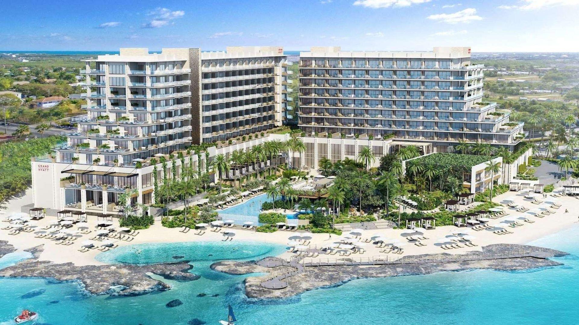 Grand Hyatt – Beach Resort – 1BR Beachfront Corner