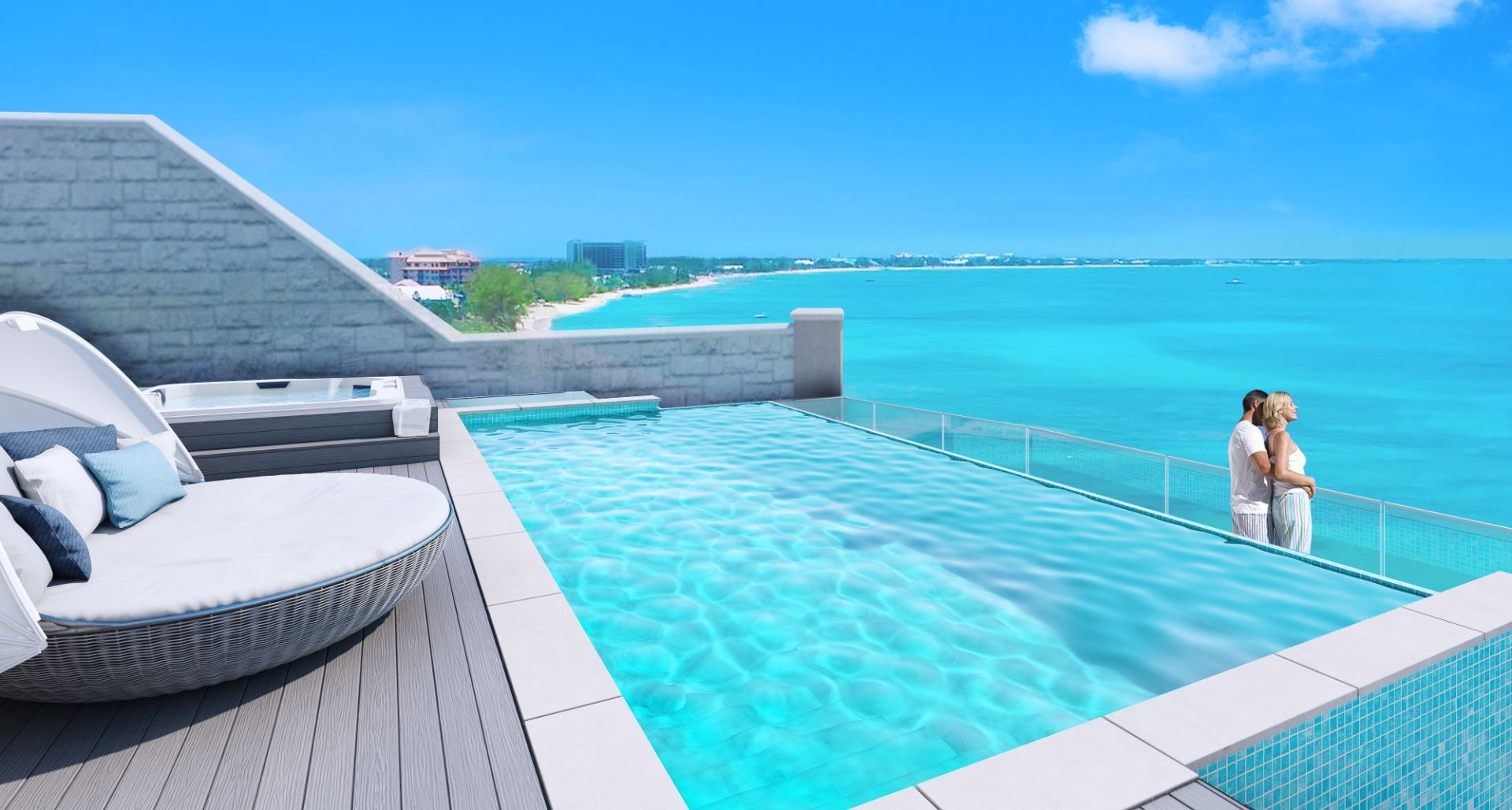 Aqua Bay – Sky Villa Two – Penthouse Private Rooftop Pool