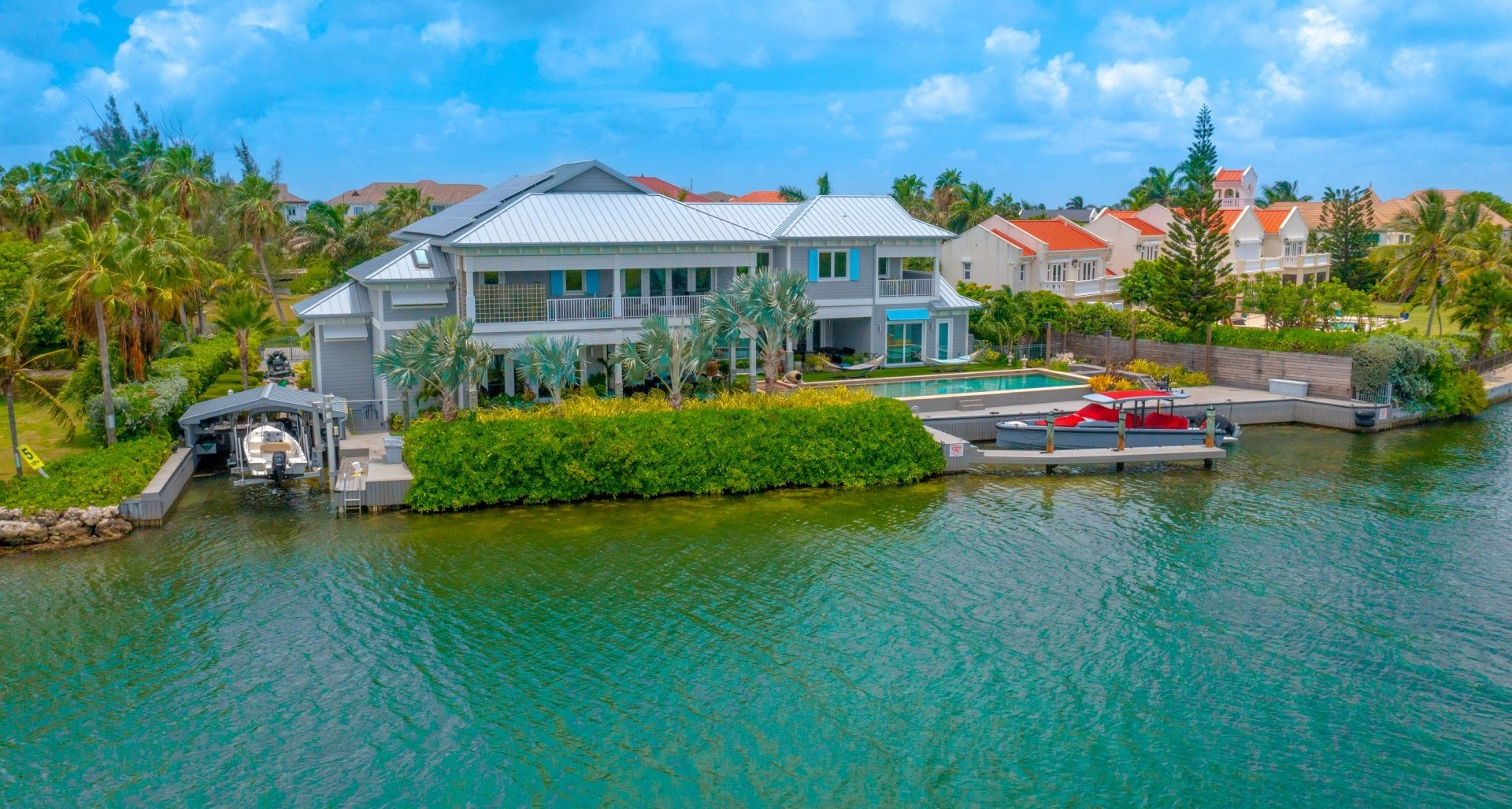 649 Yacht Drive, Canal Front Home
