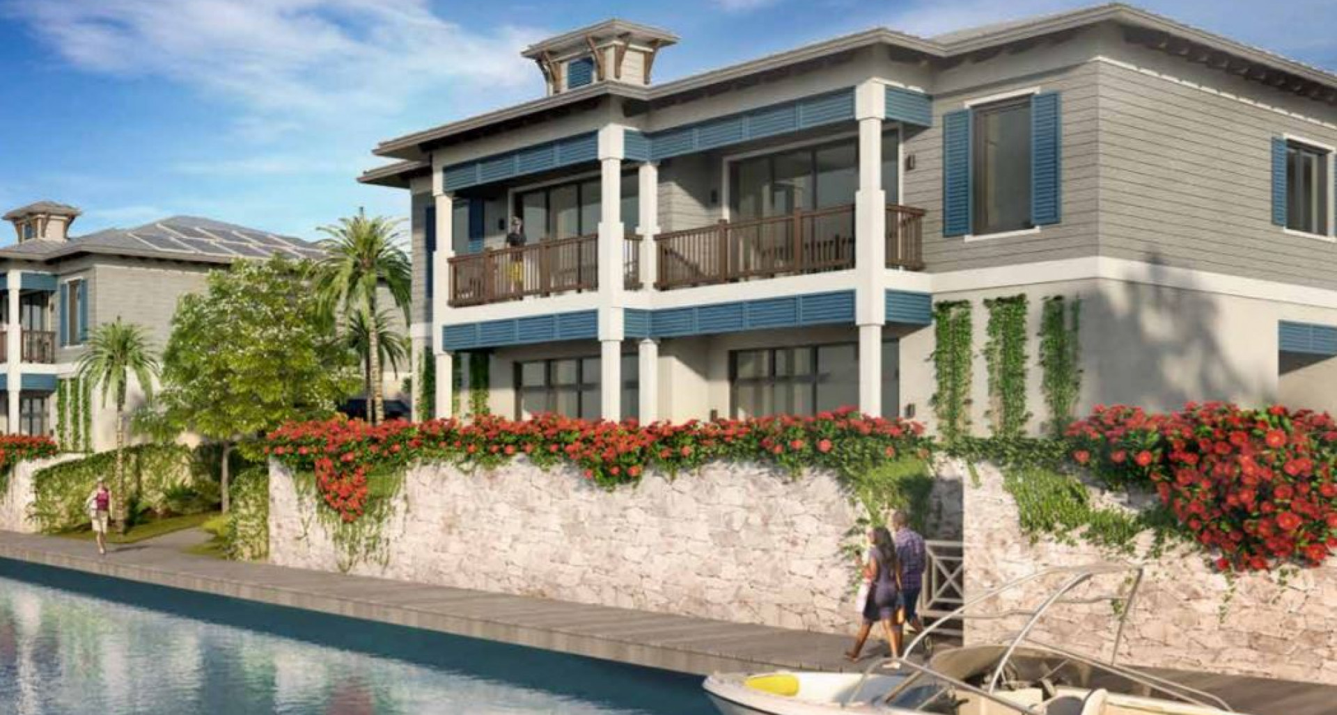 Olea Waterfront Duplex – Residence 110 with Private Pool